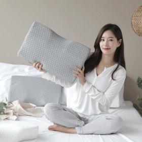 3D 메모리폼 누빔 경추베개 1개세트