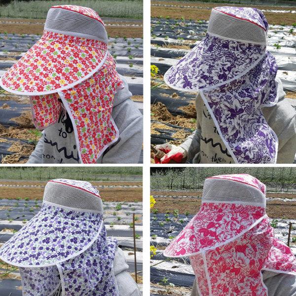 국산 농사모자/햇빛차단 농부모자/햇빛가리개 농모 상품이미지