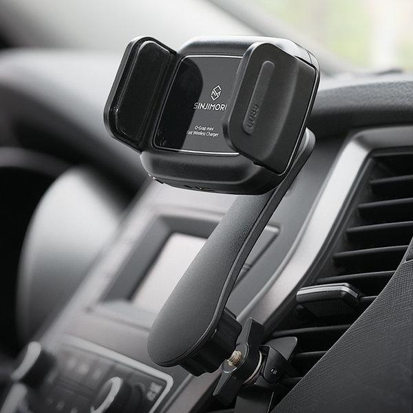 오그랩미니 차량용 무선충전 핸드폰 자동거치대 상품이미지