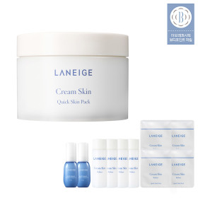 Cream Skin Quick Skin Pack 100 sheets/ Skin Soothing Toner Mask Pack
