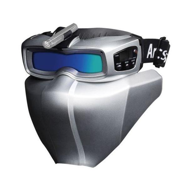 써보레 자동용접면 아크쉴드513   실버 용접헬멧 상품이미지