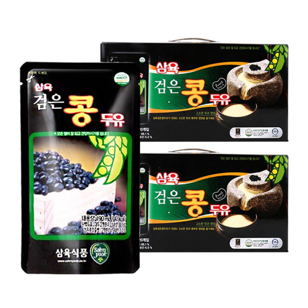 삼육두유 검은콩 파우치 190ml 40팩 상품이미지