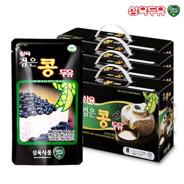 삼육두유 검은콩 파우치 190ml 80팩 상품이미지