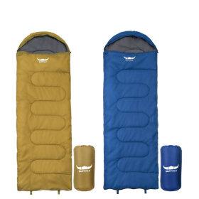 꿀잠 침낭 후드형 가성비 캠핑용품