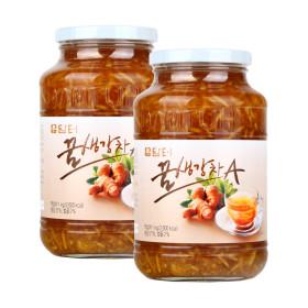 담터 꿀생강차A1kg+ 꿀생강차A1kg