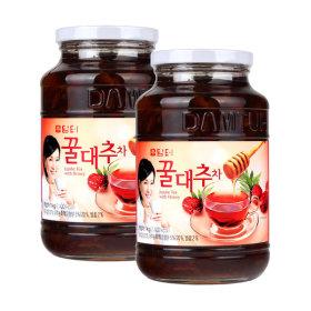 담터 꿀대추차1kg + 꿀대추차1kg