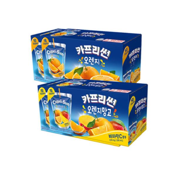 카프리썬 오렌지 20개+오렌지망고20개 총 40개 상품이미지