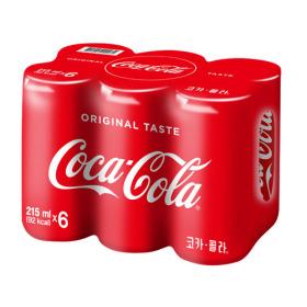 코카콜라 코카콜라 215ml x 6입
