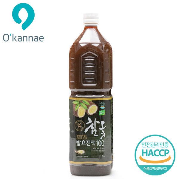 옻가네 옻안타는 참옻발효진액100(1.5Lx1병)/참옻진액 상품이미지