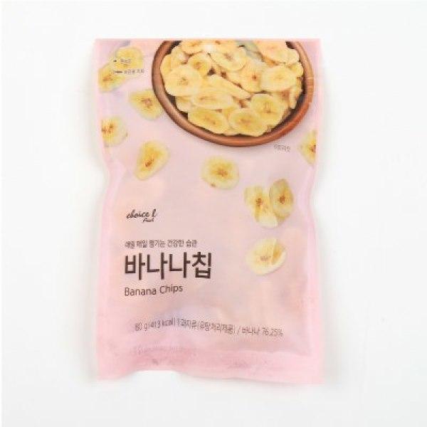 초L)바나나칩 80G/봉 상품이미지