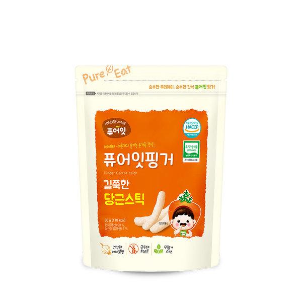퓨어잇핑거 유기농 길쭉한 당근스틱 상품이미지