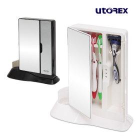 유토렉스 칫솔살균기 양문형 UTC-80DMW 화이트