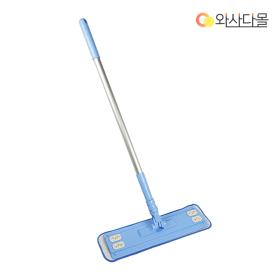 국내산 극세사 밀대 청소기 (하늘색)