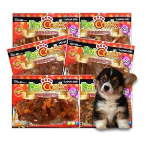애견간식 6봉 1세트 무료배송 강아지간식 개껌