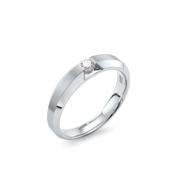 1부 동일 우신 천연 다이아몬드 남자반지 PCS-026M 상품이미지