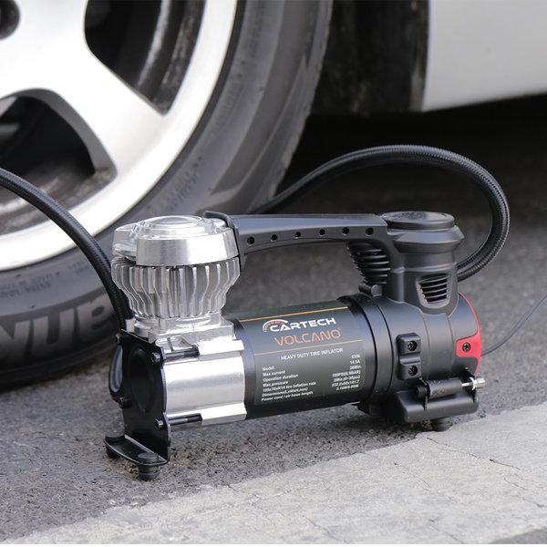 볼케이노 차량용컴프레셔 공기주입 콤프레셔 에어펌프 상품이미지