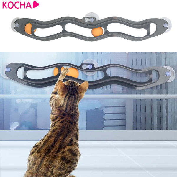 KOCHA 웨이브서킷 고양이 공놀이 캣볼 장난감 상품이미지