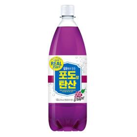 리얼 일화 포도향 탄산 1500ml