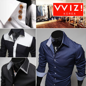WIZI Shirts collection / button down / patterned / short sleeve / 3/4 sleeve /