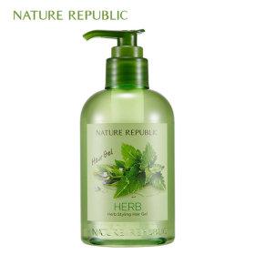 Herb Styling Hair Gel (Pump)