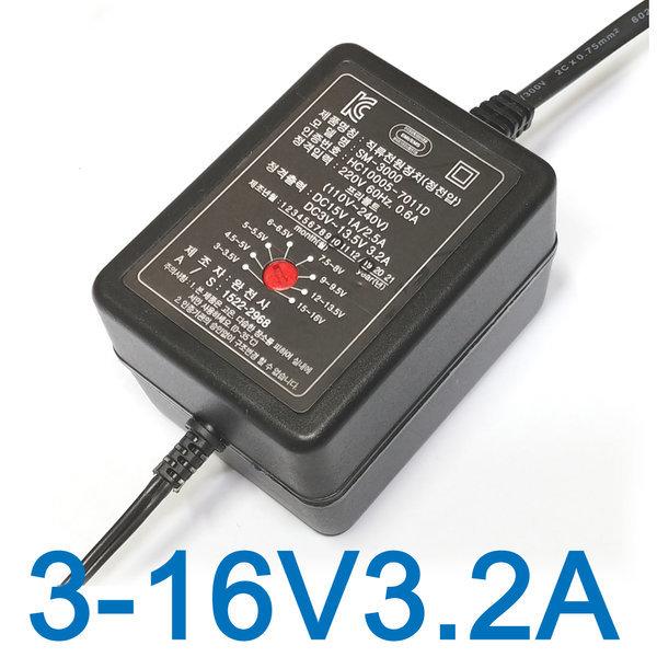 다용도 만능 아답터 3V 5V 6V 9V 12V 16V 어댑터 모음 상품이미지