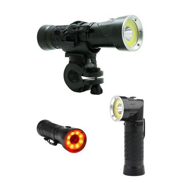 LED 자전거 라이트 랜턴 후레쉬 전조등 각도조절 L2 상품이미지