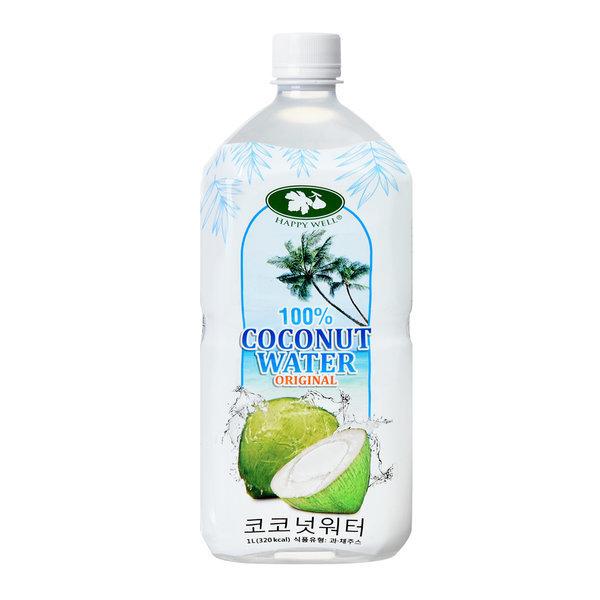 해피웰 코코넛워터 1L (Coconut Water) 상품이미지
