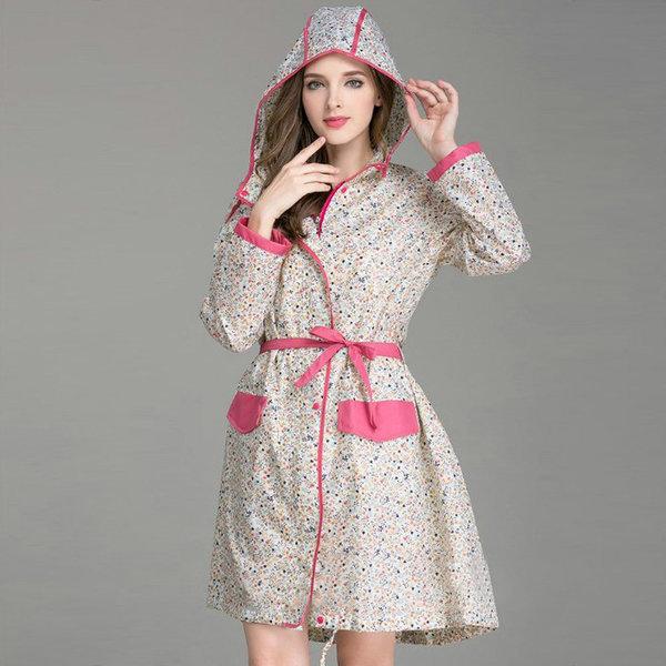 여성 레인코트 바람막이 골프우비 낚시우의 등산비옷 상품이미지