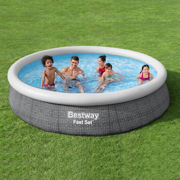튜브형 수영장(366x76cm)/단지형  이동과 설치가 쉽다 상품이미지