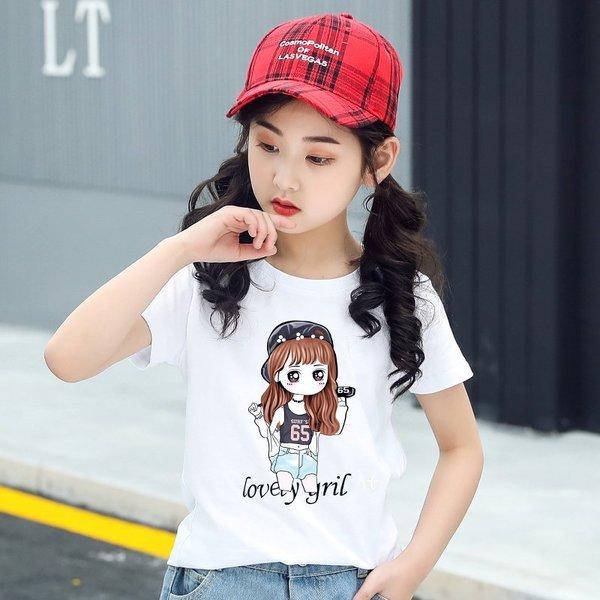 주니어 여아 유아 어린이 아동복 반팔티 티셔츠 Y33 상품이미지