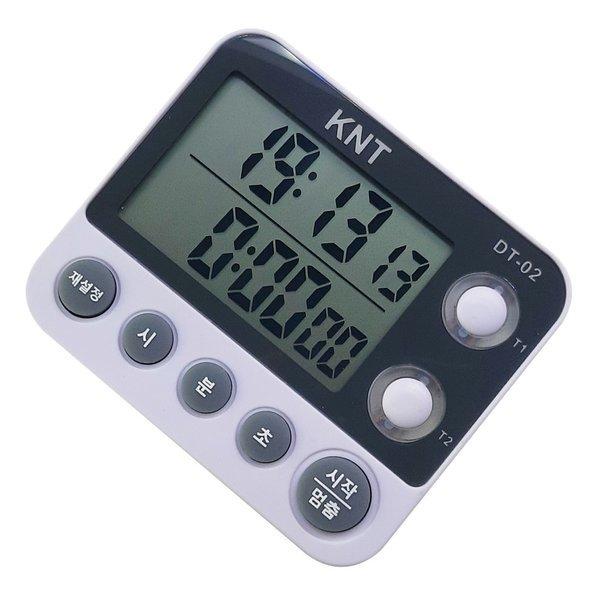 DT-02 투트랙 타이머/시계/제과/제빵/주방/LED 알람 상품이미지