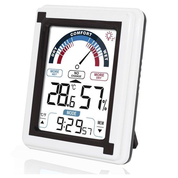 KR-20HTC 정밀 온습도계/온도계/알람/시계/테스터기 상품이미지