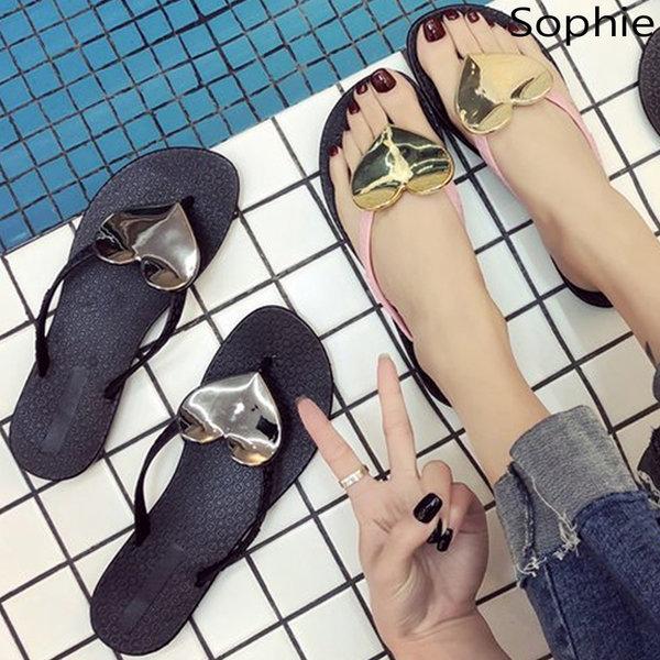 여성 플립플랍 여름 바캉스 쪼리 슬리퍼 뮬 샌들 플랫 상품이미지