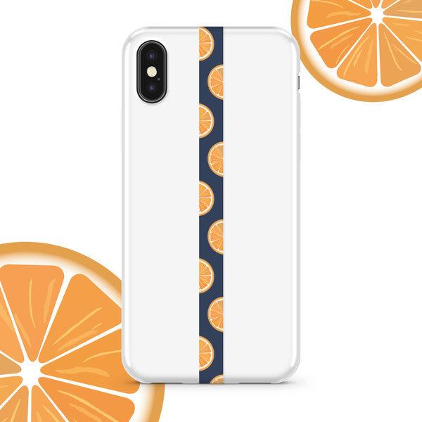 폰스트랩 핑거스트랩 휴대폰줄 오렌지 상품이미지