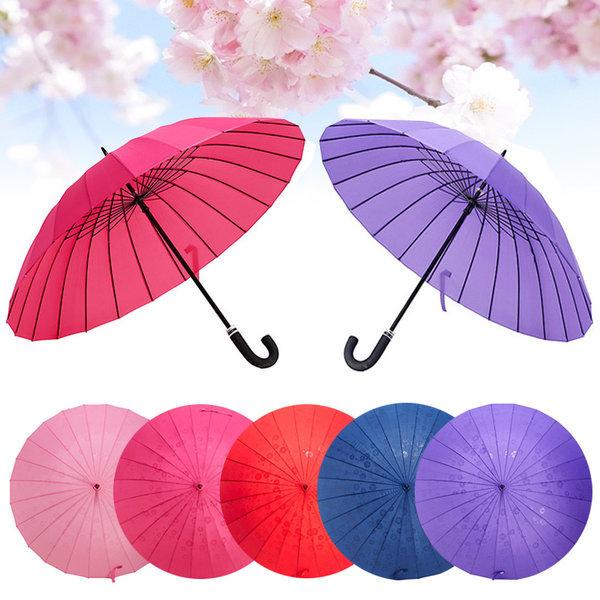 사쿠라장우산 예쁜우산 벚꽃우산 장우산 튼튼한우산 상품이미지