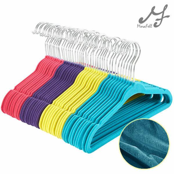 (현대Hmall)고리회전형 MF매직 논슬립옷걸이 유아용 1개 상품이미지