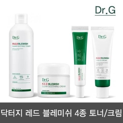 DR.G Red blemish clear soothing toner/cream/spot balm