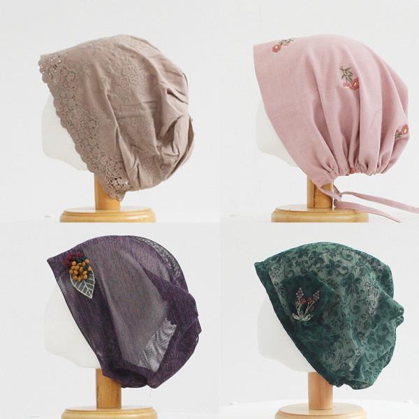 여성 패션비니 가을 겨울 두건 남성 중년 항암모자 상품이미지
