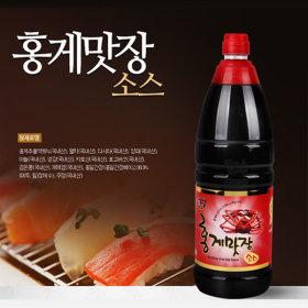 홍일식품 홍게맛장소스 1.8L 프리미엄 간장