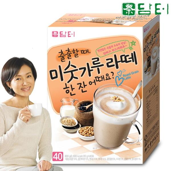 담터 미숫가루 라떼 40T/율무차/천마차/고구마라떼 상품이미지