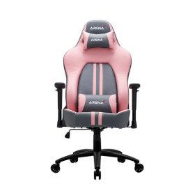 제닉스 핑크에디션 게이밍 의자 PC방 컴퓨터 책상