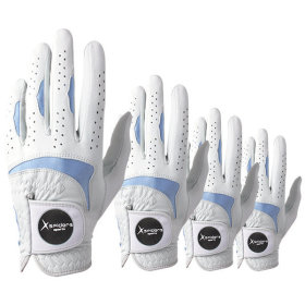 [X spiders] Golf glove / 2 pairs / breathable / elastic / velcro / COLLEZIONE /