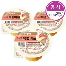 뉴케어 복숭아젤 100g x 15개 / 환자식 영양식 간식