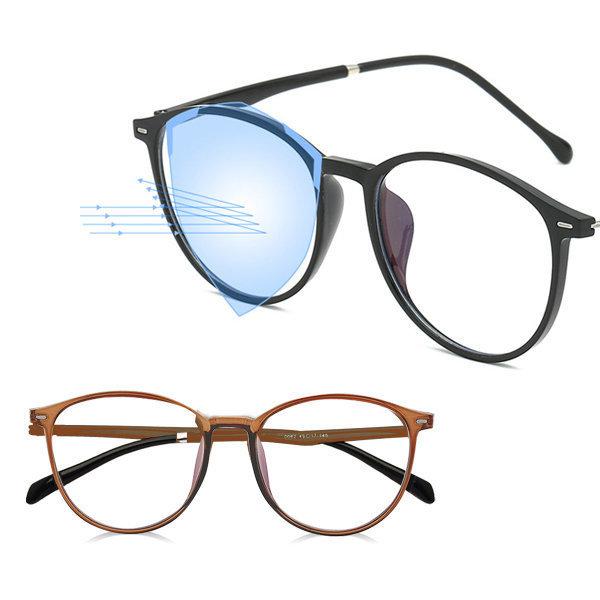 블루라이트 차단 안경 브라운 안경테 선글라스 보안경 상품이미지