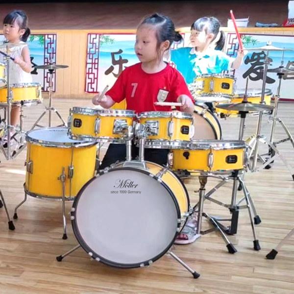쥬니어드럼 (옐로우) / 연습용드럼 드럼세트 상품이미지