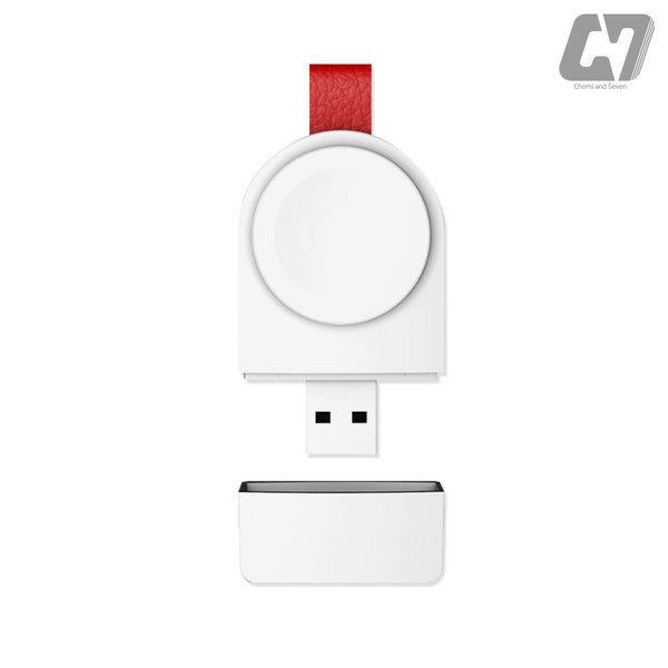 애플워치 휴대용 마그네틱 USB 충전기 충전독 상품이미지