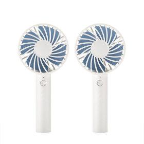 시그마 휴대용 선풍기/핸디선풍기 블루+거치대