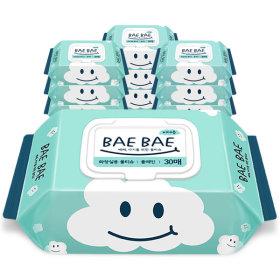 BAEBAE(베베) 아기물티슈 비데용 55gsm 캡형30매 10팩
