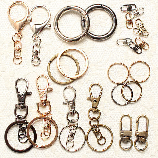 열쇠고리 열쇠고리재료 키링 열쇠고리부자재 가방고리 상품이미지