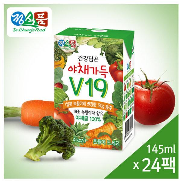 베지밀 건강담은 야채가득 V19 24팩/음료/주스/야채즙 상품이미지